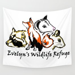 Wildlife Rescue Wall Tapestry
