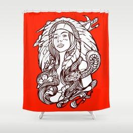 Shamoni Makolula Shower Curtain