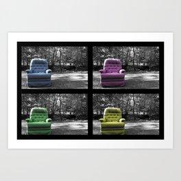 The Chair Art Print