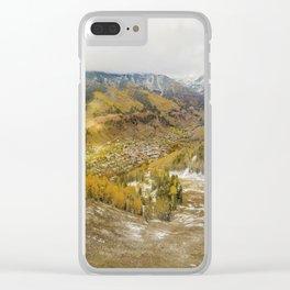 Telluride Gondola Clear iPhone Case