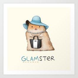 Glamster Art Print