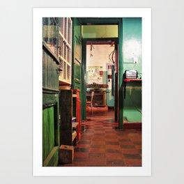 misiones kitchen Art Print