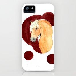 Haflinger iPhone Case