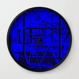 Looking in a Window Wall Clock
