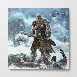 Viking Metal Print
