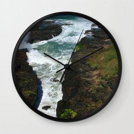Picturesque Oregon Coast Wall Clock