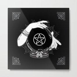 Mystic Fortune Teller Metal Print