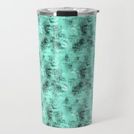 Patched Teal Waters Travel Mug