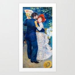 Pierre-Auguste Renoir - Country Dance Art Print