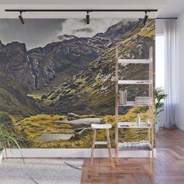 Routeburn Track, Fiordland, South Island, New Zealand Wall Mural