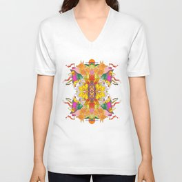 Free Psych and Mirrors - Antonio Feliz Unisex V-Neck
