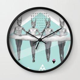 sqirrelsea dance Wall Clock