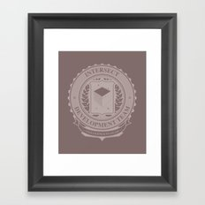 Intersect Dev Team Framed Art Print
