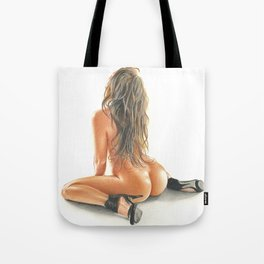 color girl Tote Bag