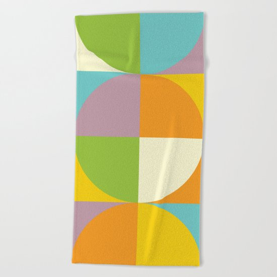 Quarters Quilt 2 Beach Towel