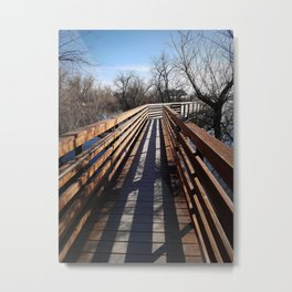 Follow Metal Print