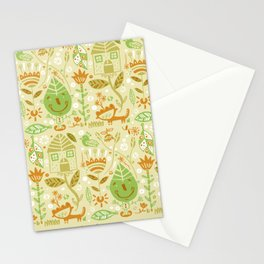 Nature-pattern Stationery Cards