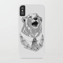Mr  Bear iPhone Case