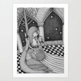 The Star Flowers (1) Art Print