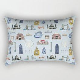 All of London's Landmarks  Rectangular Pillow