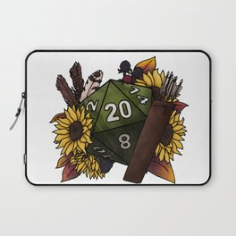 Ranger Class D20 - Tabletop Gaming Dice Laptop Sleeve