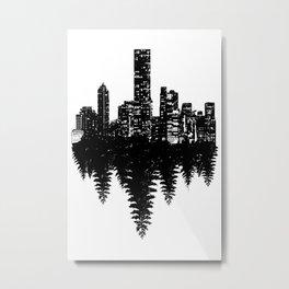 Opposite Metal Print
