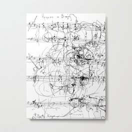 Rhizome in B Major Metal Print
