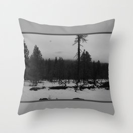 Niveous Throw Pillow