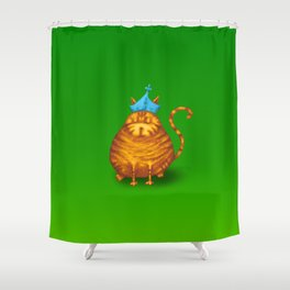 Frankincense King Shower Curtain