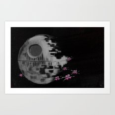 Death Star Art Print