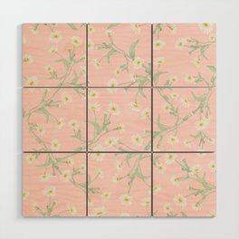 Oxeye (Pink) Wood Wall Art