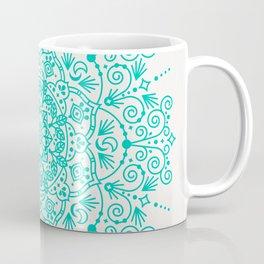Moroccan Mandala – Turquoise Palette Coffee Mug