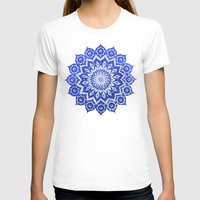 colour T-shirts featuring ókshirahm sky mandala by Peter Patrick Barreda