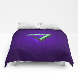 The infinity triangle inverted Comforters