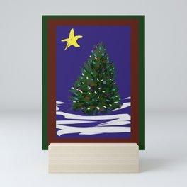 O Christmas Tree DP150902a Mini Art Print