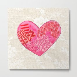 Lovely at Heart Metal Print