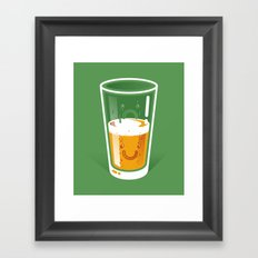 Pessimistic Optimist Framed Art Print