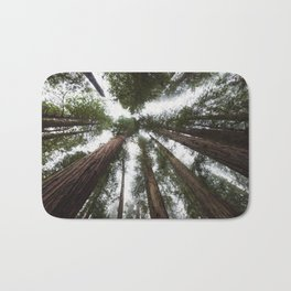 Redwood Portal - nature photography Bath Mat