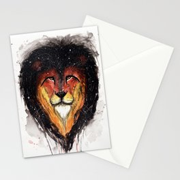Fire Lion. Stationery Cards