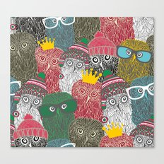 The crowd. Canvas Print