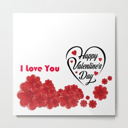 Valentines Day Special | Happy Valentines Day Metal Print