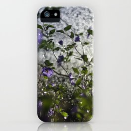 lycianthes iPhone Case
