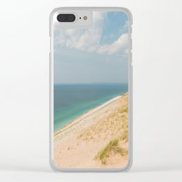 Summer at the Dunes Clear iPhone Case