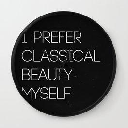 Classical Beauty Wall Clock
