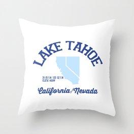 Lake Tahoe. Throw Pillow