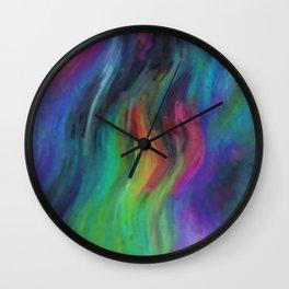 Primordial Light Wall Clock