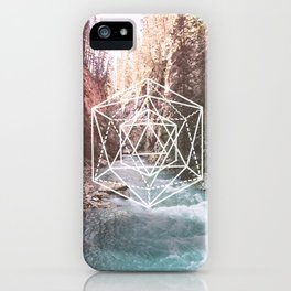 River Triangulation iPhone Case