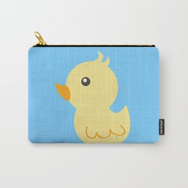 Yellow rubber ducks illustration Carry-All Pouch