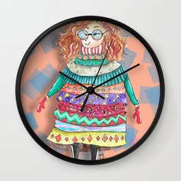 When it´s cold... Wall Clock