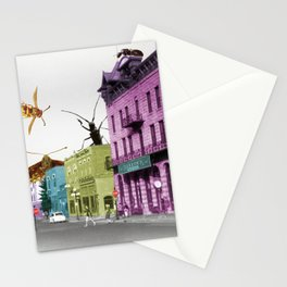 Insect Attack Stationery Cards